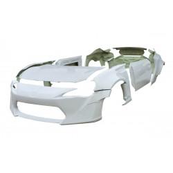 Rocket Bunny wide body drift body kit for Toyota GT86 Subaru BRZ