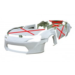 Rocket Bunny wide body kit for Toyota GT86 / Subaru BRZ
