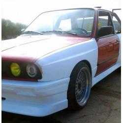 EVO style front bumper for BMW E30 coupe, cabrio, sedan or M3