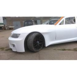 Lightweight FRP wide drift body kit for BMW E36/8 Z3 coupe
