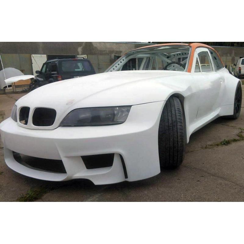 Lightweight wide FRP bonnet / hood for BMW E36/8 Z3 coupe