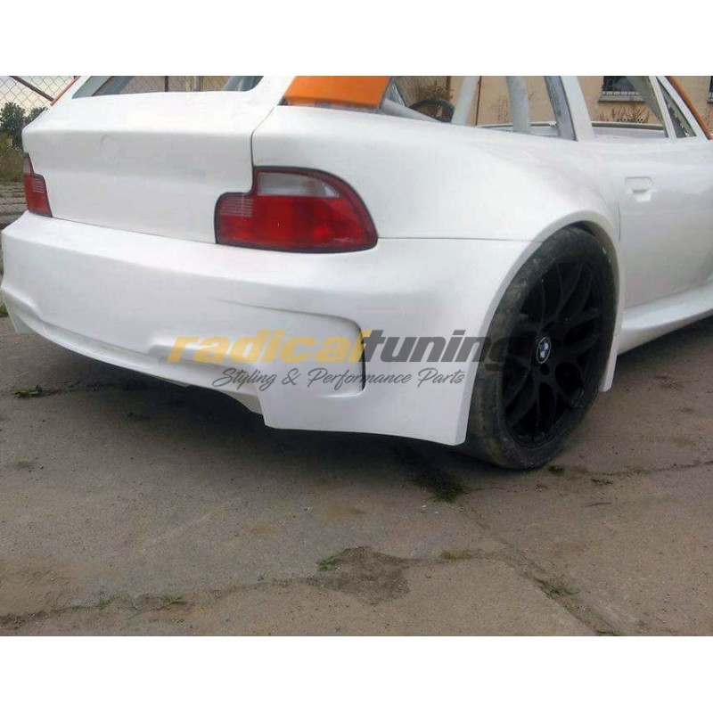 M4 look wide rear bumper for BMW E36/8 Z3 coupe