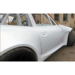 Wide side skirts + front fenders for BMW E36/8 Z3 coupe