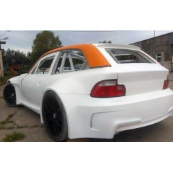 Wide rear quarter panels fenders for BMW E36/8 Z3 coupe