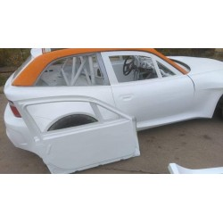 Lightweight FRP doors with frame for BMW E36/8 Z3 coupe
