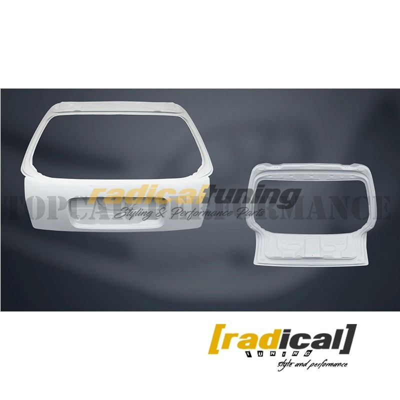 FRP boot lid tail gate for Honda Civic EK MK6 96-00