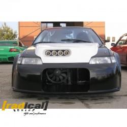 Wide drag front bumper for Honda CRX EE8