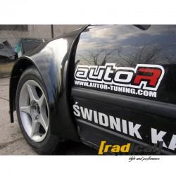 Wide drag race front fenders wings for Honda CRX EE8