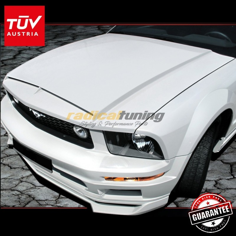 SHELBY Radical vented bonnet hood for 5th gen. Ford Mustang 06-14