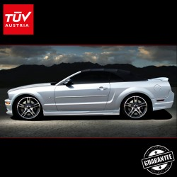 SHELBY Radical side skirts for 5th gen. Ford Mustang 06-14