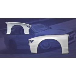 FRP front fenders wings for Nissan Silvia PS13 S13 180sx
