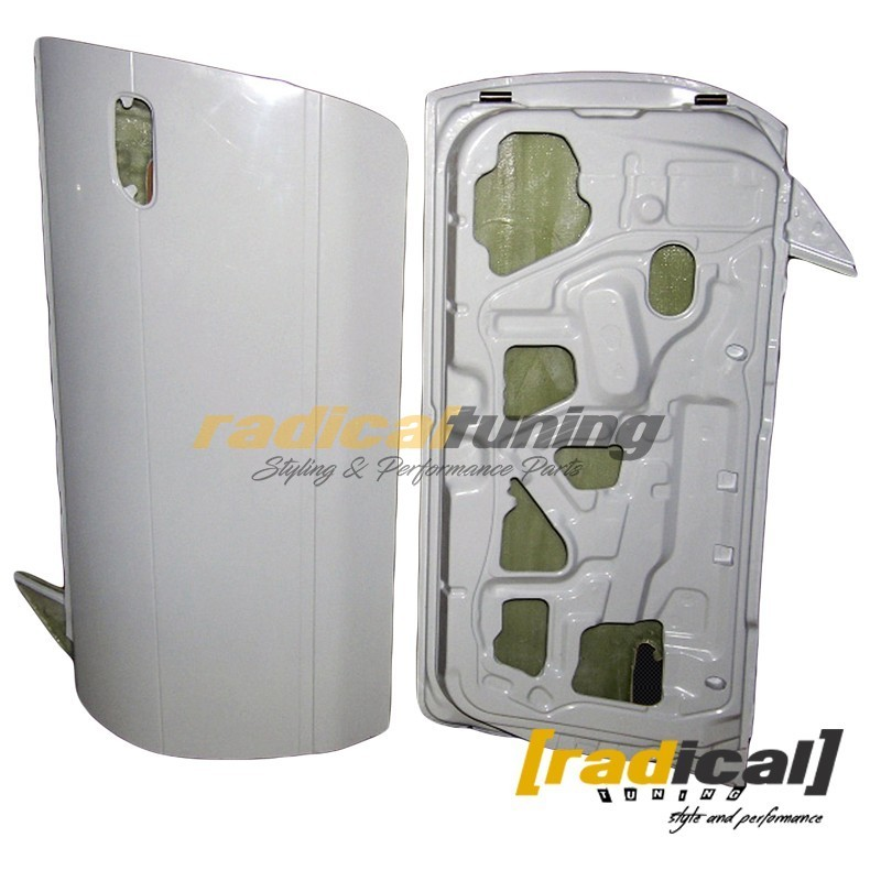 Pair of Lightweight FRP doors for Nissan Silvia S13 / PS13