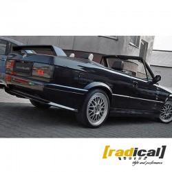 EVO style rear spoiler for BMW E30 coupe / M3