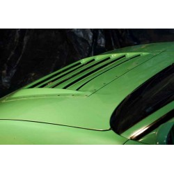 Vented D-Max style FRP bonnet hood for Nissan Silvia S13 180SX 240sx