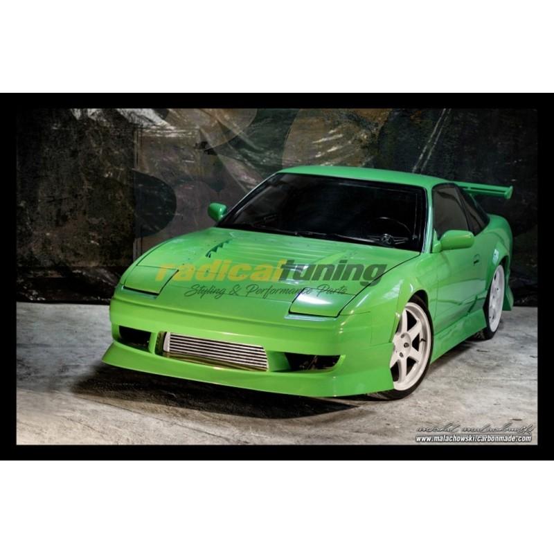 URAS style front bumper for Nissan Silvia S13 180SX 240sx