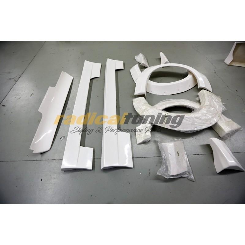 Rocket Bunny v1 wide conversion body kit for Nissan Silvia S13 180SX 240sx