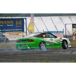 S13 to S14A front conversion wide body kit for Nissan Silvia S13 180SX 240sx