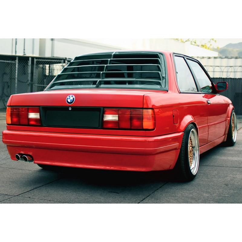 Rear window louvers for BMW E30 coupe / M3 / sedan