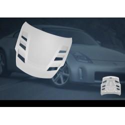 AMUSE Nismo 380RS vented bonnet hood for Nissan Z33 350z