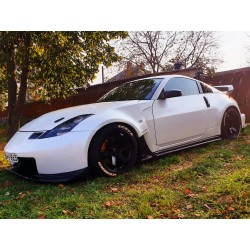 Nismo 380 RS by Amuse front bumper for Nissan Z33 350z