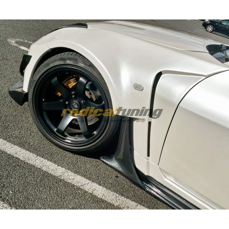 Amuse Nismo 380RS fenders + side skirts combo for Nissan Z33 350z