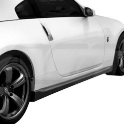 Nismo v3 side skirts extensions for Nissan Z33 350z