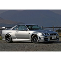 GTR Z-tune type side skirts add-ons for Nissan Skyline R34