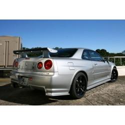 GTR spec wide rear over fenders for Nissan Skyline R34
