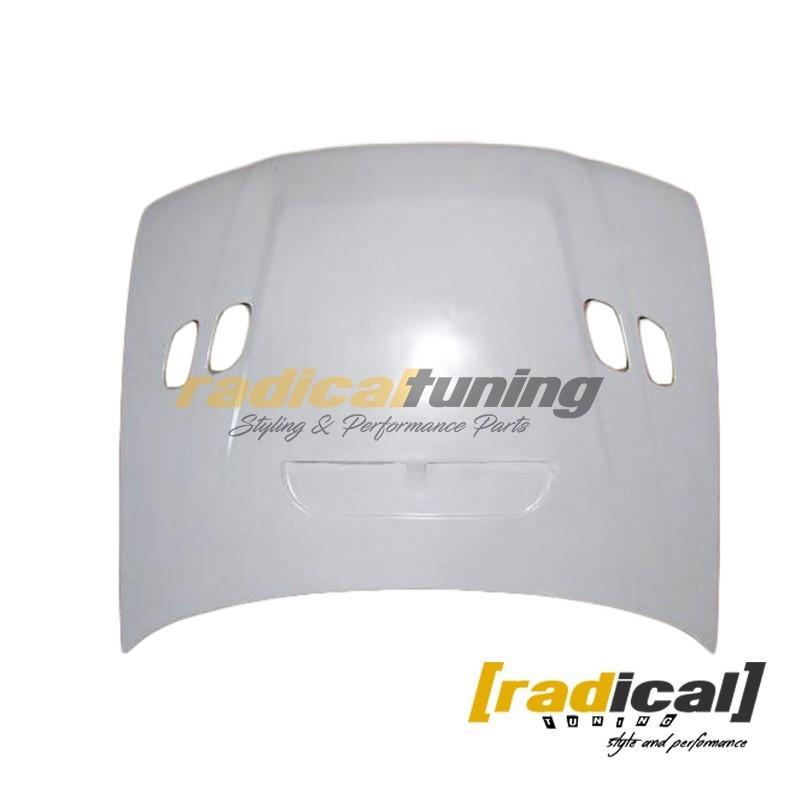 FRP STI style bonnet hood for classic Subaru Impreza GC GM coupe sedan