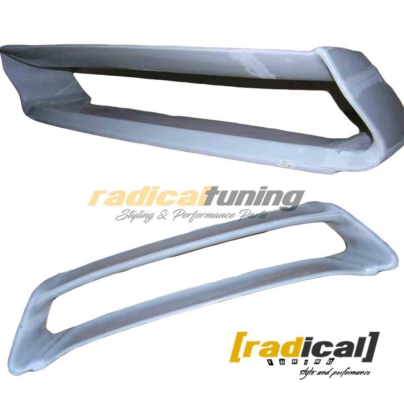FRP STI Trunk spoiler wing for classic Subaru Impreza GC GM coupe sedan