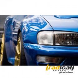 22b WRC wide body conversion kit for Subaru Impreza GM coupe