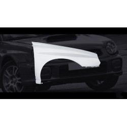 FRP front fenders wings for Subaru Impreza WRX STI GD Bugeye 01-03