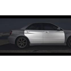 FRP front doors for Subaru Impreza GD WRX STI Bugeye, Blobeye, Hawkeye