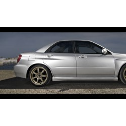 FRP rear doors for Subaru Impreza GD WRX STI Bugeye, Blobeye, Hawkeye