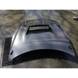 Nissan GTR GT3 R35 FULL Carbon Vented Bonnet Hood