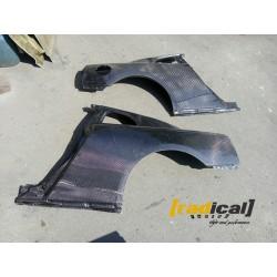 FULL Carbon OEM Fitment Rear Quarter Panels for Nissan GTR R35