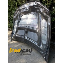 100% Carbon VOLTEX Type Bonnet for Mitsubishi Evo 8 9