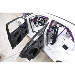 Set of 4 Lightweight Doors for Mitsubishi Evo 7/8/9 - 100% Carbon Fibre
