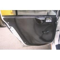 Pair of Rear Doorcards for Mitsubishi Evo 7/8/9 - 100% Carbon Fibre