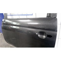 Pair of Lightweight Doors for Fiat 500 Abarth - 100% Carbon Fibre