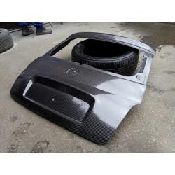 100% Carbon Fibre Trunk Boot Lid for Fiat 500 Abarth