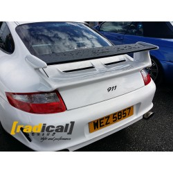 Rear Deck with Carbon GT3 Wing Spoiler for Porsche 911 997 S 4S Carrera