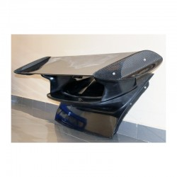 Rear Deck with Carbon GT3 RS Wing Spoiler for Porsche 911 997 S 4S Carrera