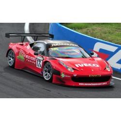 100% Carbon Fibre Wide Grand Am Conversion Front Bumper for Ferrari 458 Italia