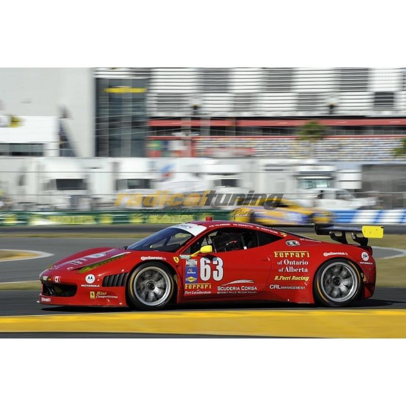 100% Carbon Fibre Wide GT3 Conversion Side Skirts for Ferrari 458 Italia