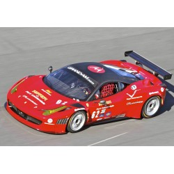 Wide Rear Fender Flares / Wheel Arches for Ferrari 458 Italia - 100% Carbon Fibre