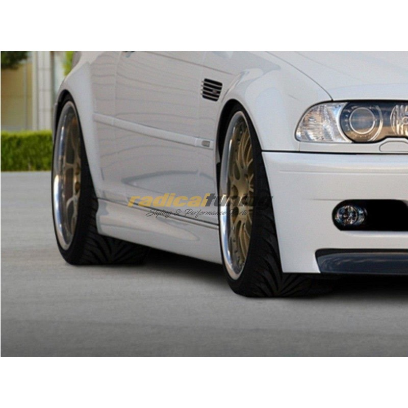 M3 spec side skirts for BMW E46 coupe