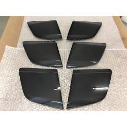 Pair of Carbon fibre Wide GT4 Side Blades for Audi R8 Gen. 2 (17-present)