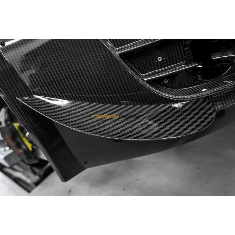 Carbon fibre Wide GT3 LMS Ultra Front Bumper Canards for Audi R8 Gen. 1 (09-16)