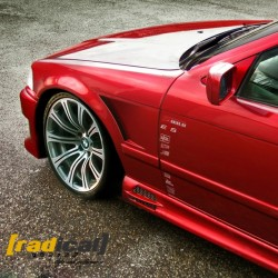 BMW E36 coupe / M3 vented front fenders v1